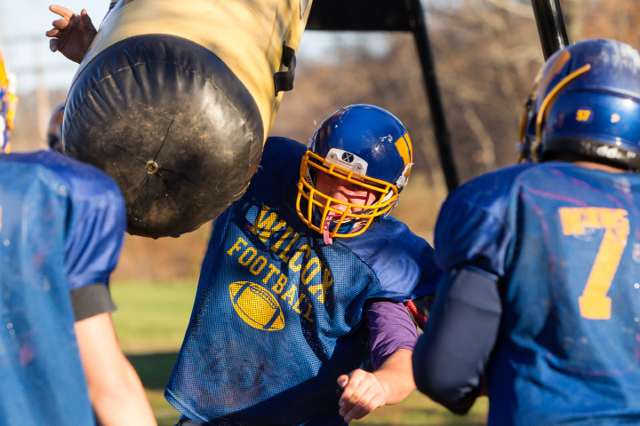 Lineman Jakob Matteson, a four-starter for Wilcox Tech, has signed with Division II University of New Haven.  | Justin Weekes, Special to the Record-Journal