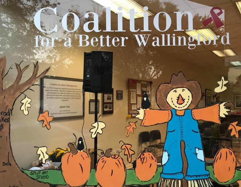 Coalition for a Better Wallingford's storefront on Center Street.