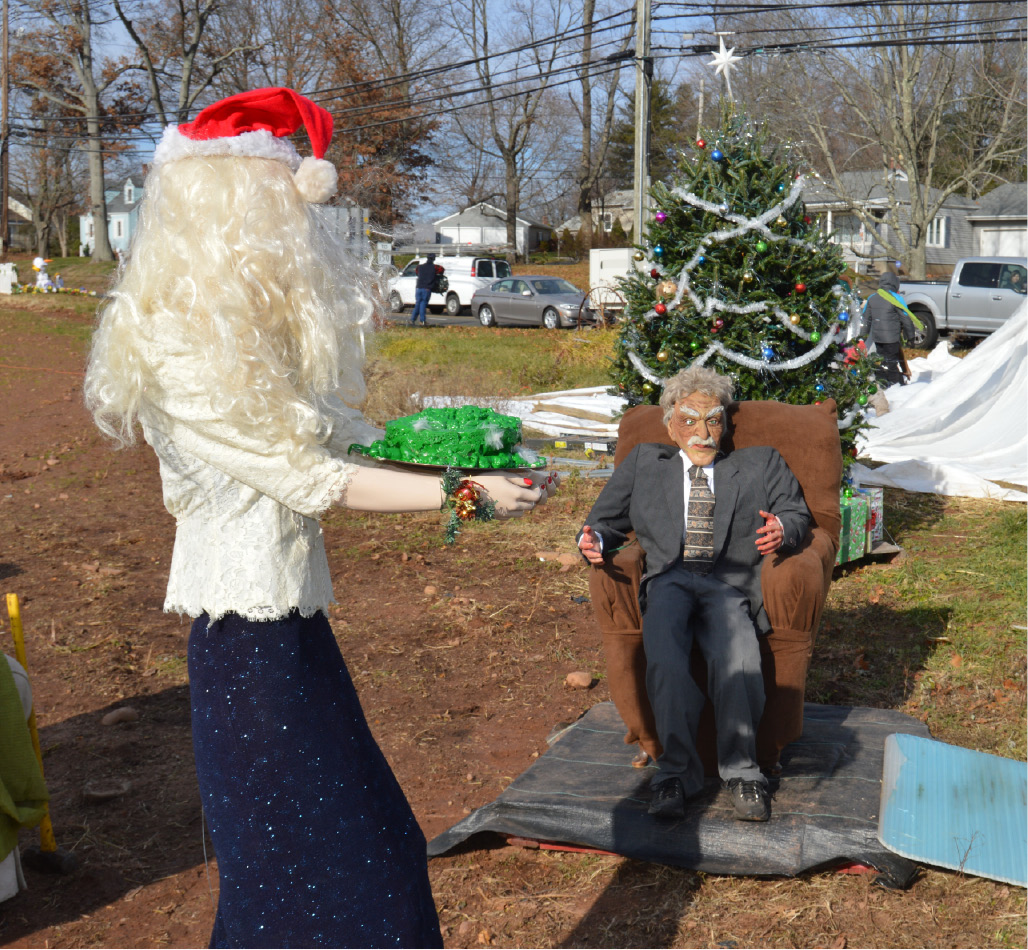 billy beaumont owner of beaumont farm in wallingford chose christmas vacation as - Cousin Eddie Christmas Decoration