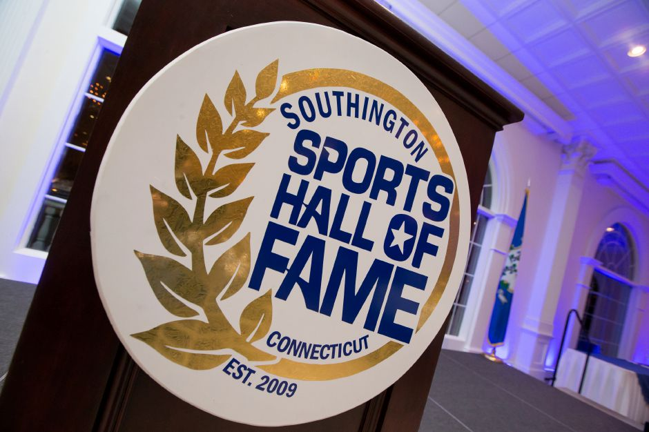 Wednesday during the 2016 Southington Sports Hall of Fame inductions held at the Aqua Turf Club in Plantsville Nov. 9, 2016 | Justin Weekes / For the Record-Journal