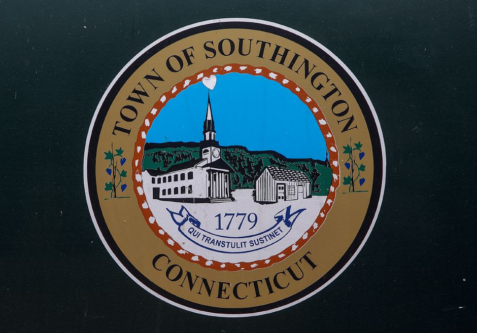 The Town of Southington seal seen on a town truck Thursday, July 26, 2018. The Town Council unanimously passed new guidelines on the use of the town seal after a recommendation from the ordinance review committee. Dave Zajac, Record-Journal