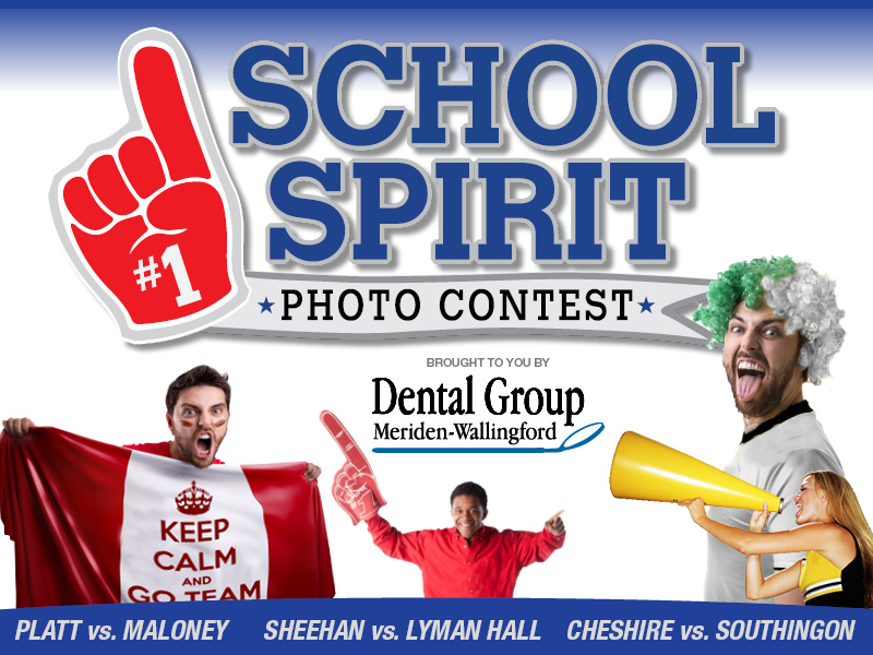 Show Us Your School Spirit!  Enter your photo today!