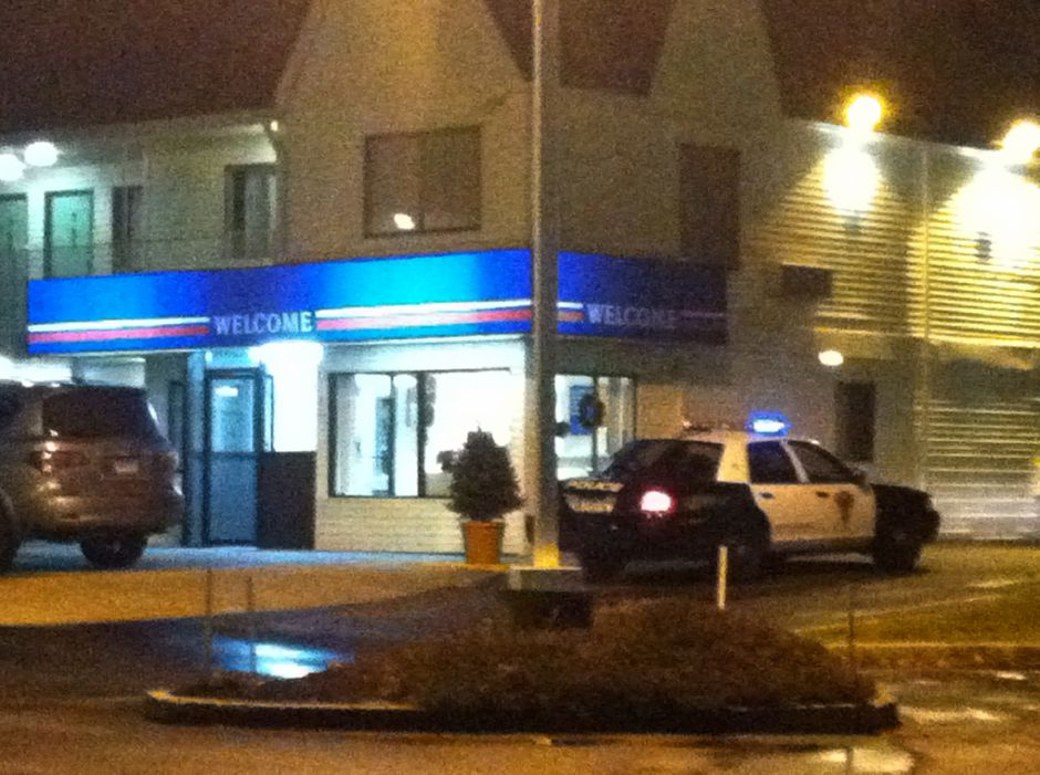 In this file photo, a police cruiser responds to Motel 6 on Queen Street in Southington. Motel 6 topped the list of highest police calls by location with 55 last fiscal year.