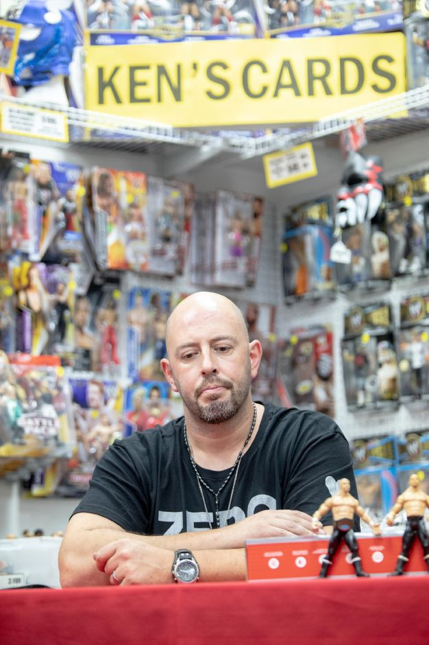 Peter Polaco, better known by his wrestling stage name Justin Credible, speaks about his visit to Ken