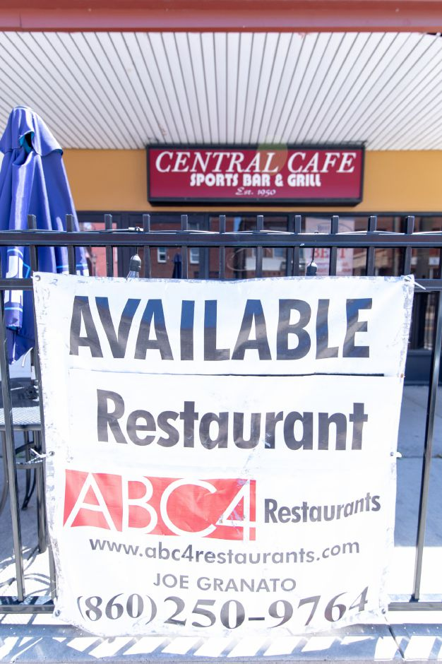 The owners of Central Cafe in Plainville will not be reopening the 54 West Main St. bar after its license was suspended following an alleged fight between two motorcycle gangs. | Devin Leith-Yessian/Plainville Citizen