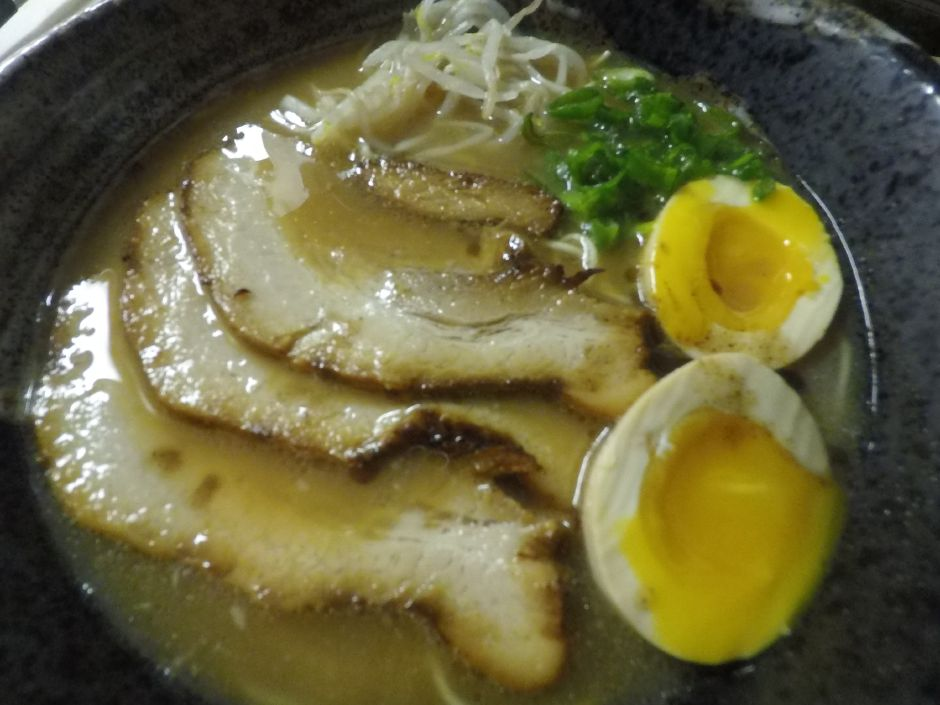 Tonkotsu Ramen is a popular menu item at FunJu Noodle Bar, 20 Ives Rd., Wallingford. | Ashley Kus, Record-Journal