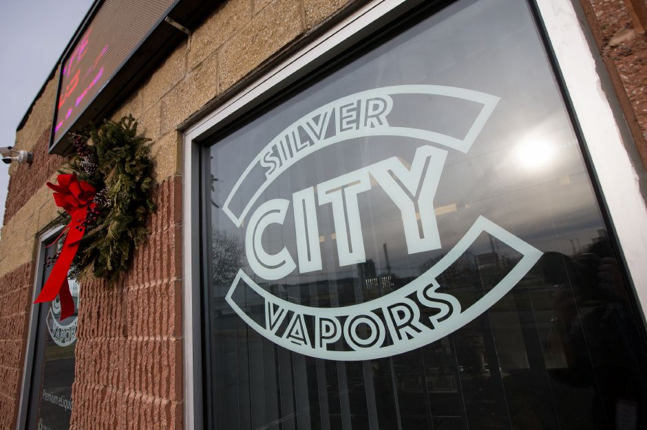 Silver City Vapors in Wallingford on Weds. Jan. 2, 2019. The town is considering an ordinance raising the legal age to 21 to purchase vapor tobacco products. | Justin Weekes / Special to the Record-Journal