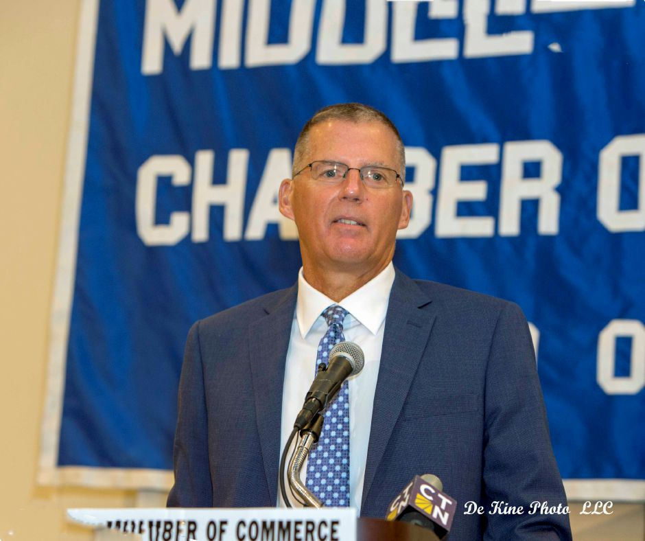 UConn football coach Randy Edsall appears at the Middlesex County Chamber of Commerce member breakfast next Thursday, Aug. 22. Boston Red Sox announcer Jerry Remy is in town for a special luncheon on Thursday, Aug. 28. | Photo courtesy of Middlesex County Chamber of Commerce