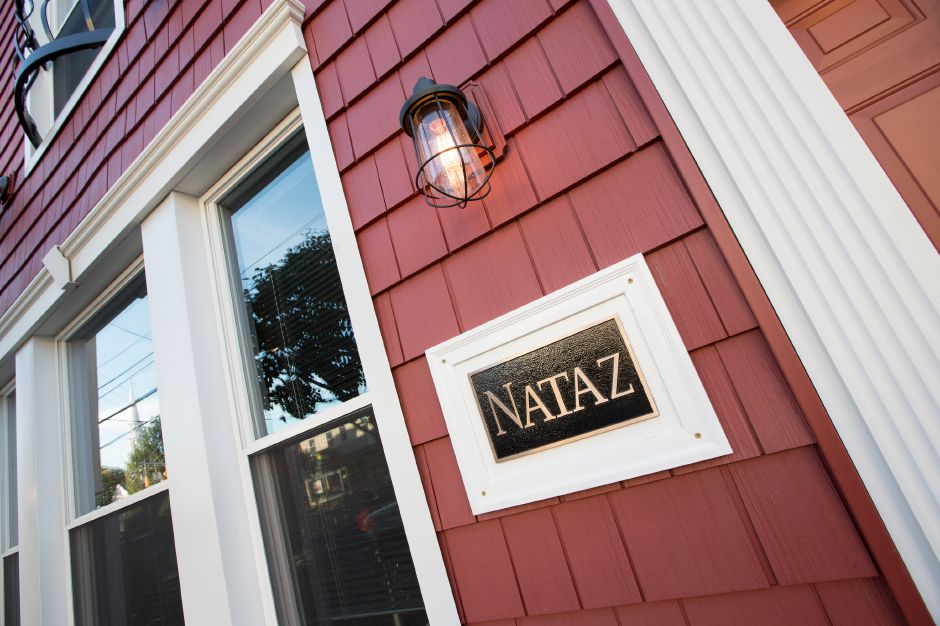 Nataz restaurant on Main Street in Southington October 27, 2017 | Justin Weekes / For the Record-Journal
