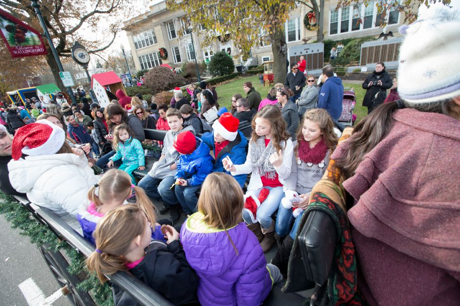 Saturday during Season of Celebration at the Town Hall in Wallingford December 2, 2017 | Justin Weekes / For the Record-Journal