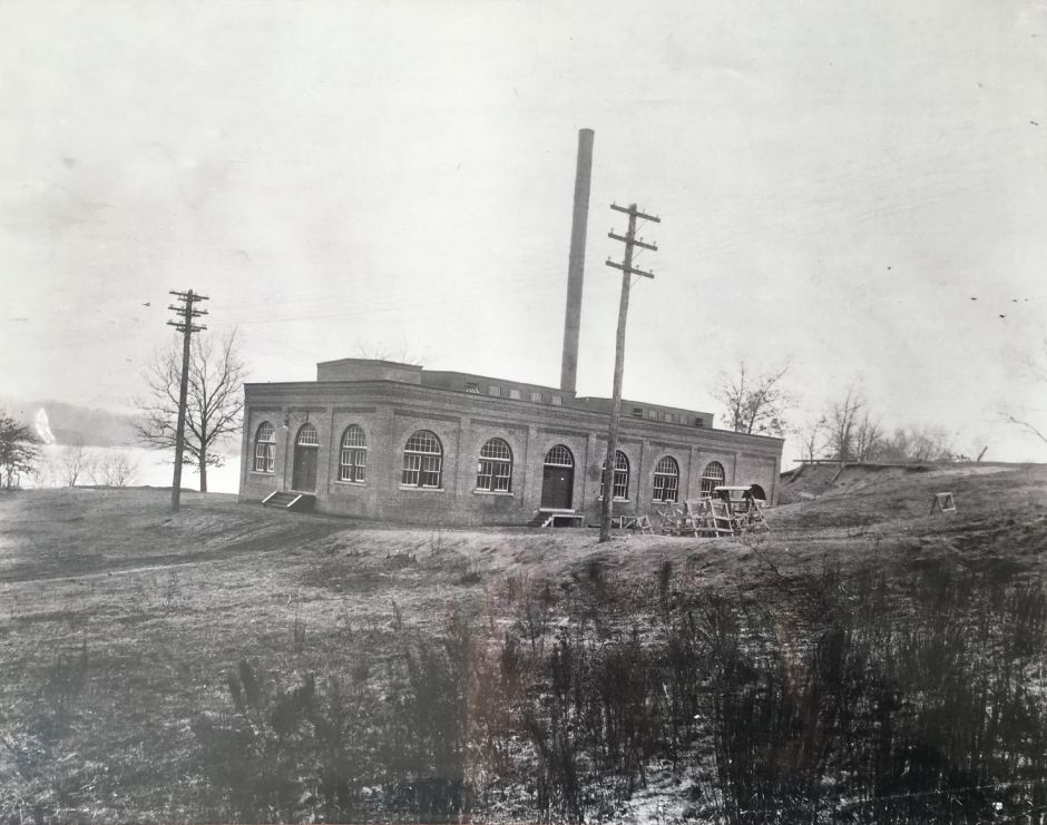 The Borough of Wallingford Electric Works electricity generating plant, on Washington Street, early 1900s. | Courtesy of Wallingford Historical Society