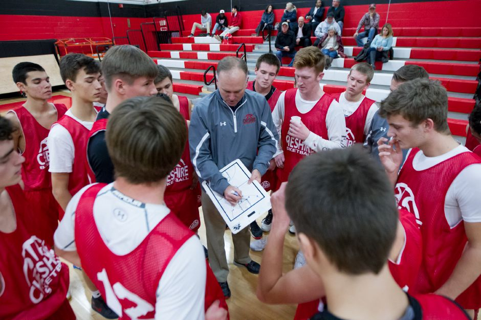 Coach Dan Lee and his Cheshire Rams also took heavy graduation losses. They return just one starter in Eric Angelone. | Justin Weekes / For the Record-Journal