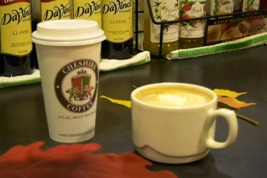 "The ""Autumn Harvest Latte"" is served at Cheshire Coffee, 210 Old Towne Rd., Cheshire. 