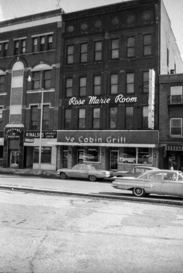 Original Location Of The Cabin Restaurant 22 27 State St Meriden