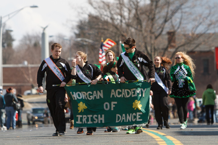 Horgan Academy of Irish Dance during the St. Patrick