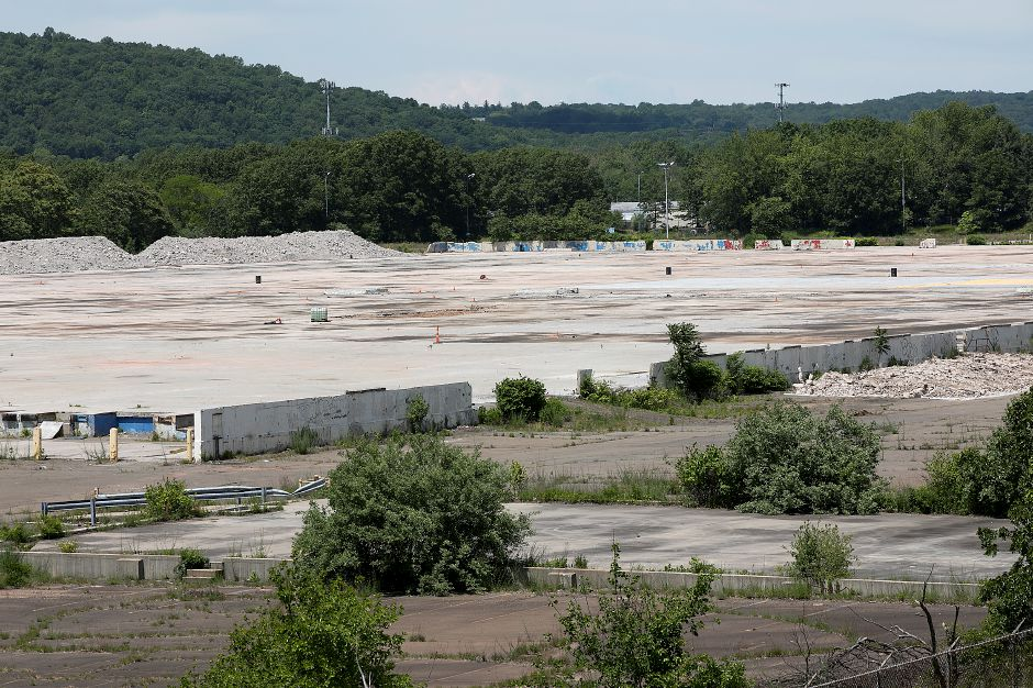 The former Pratt & Whitney site in North Haven, Friday, June 9, 2017. Online retailer Amazon plans to build a $255 million, 855,000-square-foot fulfillment center on property. | Dave Zajac, Record-Journal