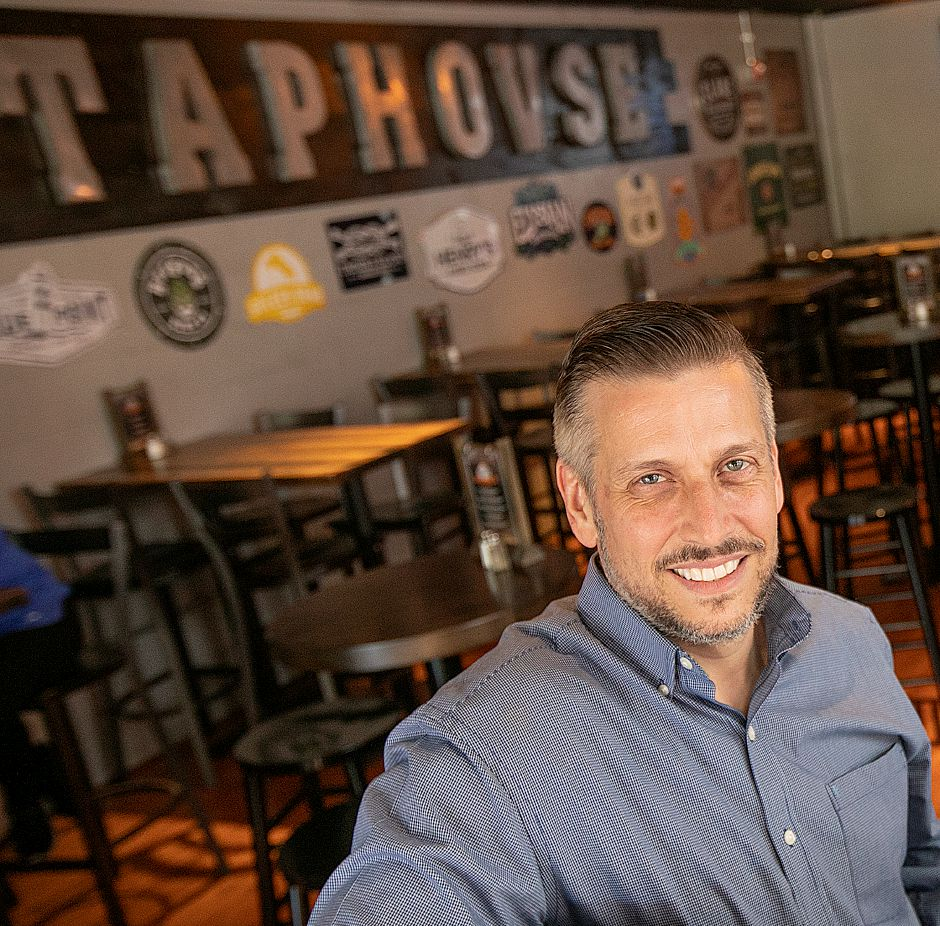 Sean Sherman, owner of Sherman's Taphouse.