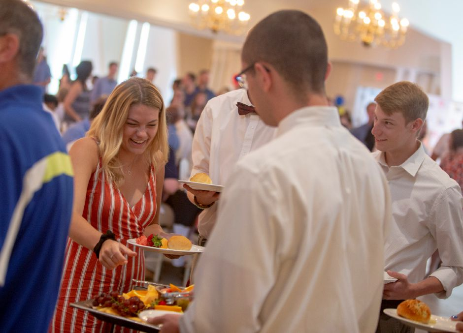 Grabbing some brunch at the Record-Journal Best of the Bunch Brunch at the Aqua Turf Sunday June 23, 2019. | Richie Rathsack, Record-Journal