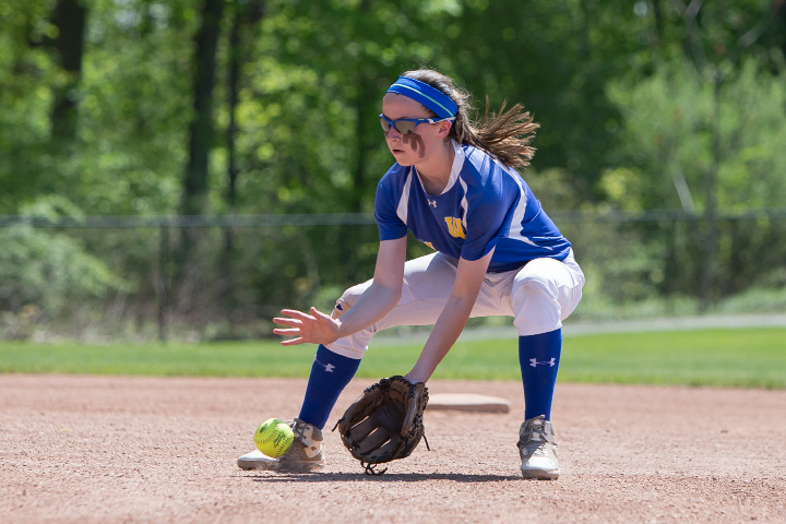 Samantha Petro and the Wilcox Tech softball team ran its unbeaten record to 8-0 with Wednesday