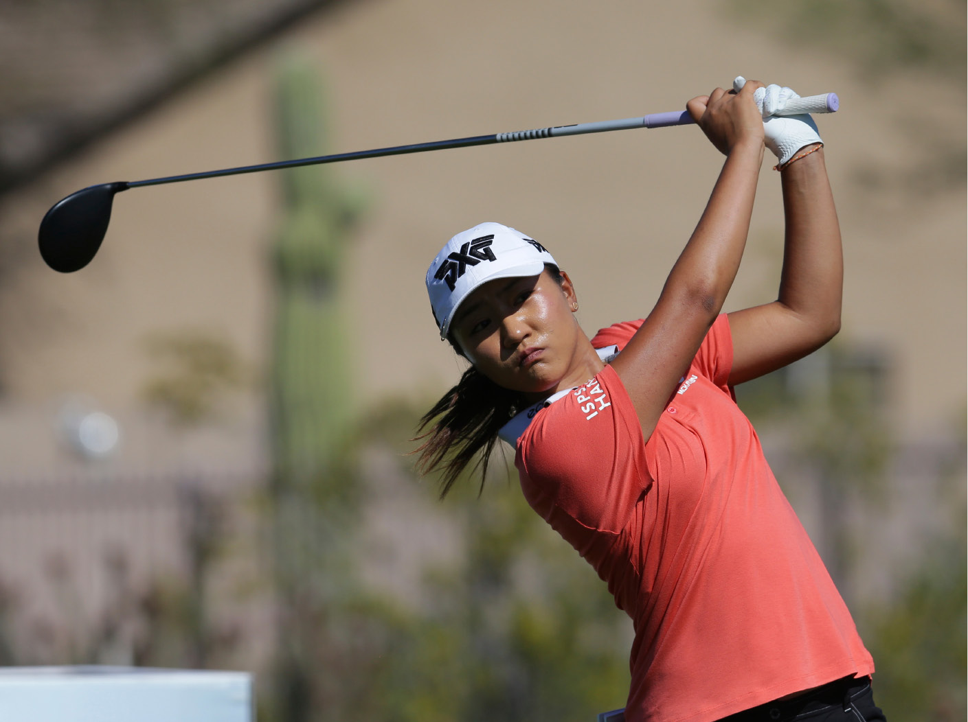 FILE - In this Sunday, March 19, 2017, file photo, Lydia Ko of New Zealand, tees of on the eighth tee during the final round of a LPGA golf tournament on in Phoenix. One tournament is the first major championship of the golf season. The other is all about getting ready for a major. (AP Photo/Rick Scuteri, File)