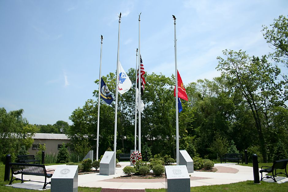 Berlin's Memorial Day parade will conclude at Berlin Veterans Memorial Park, pictured, where a ceremony will be held.