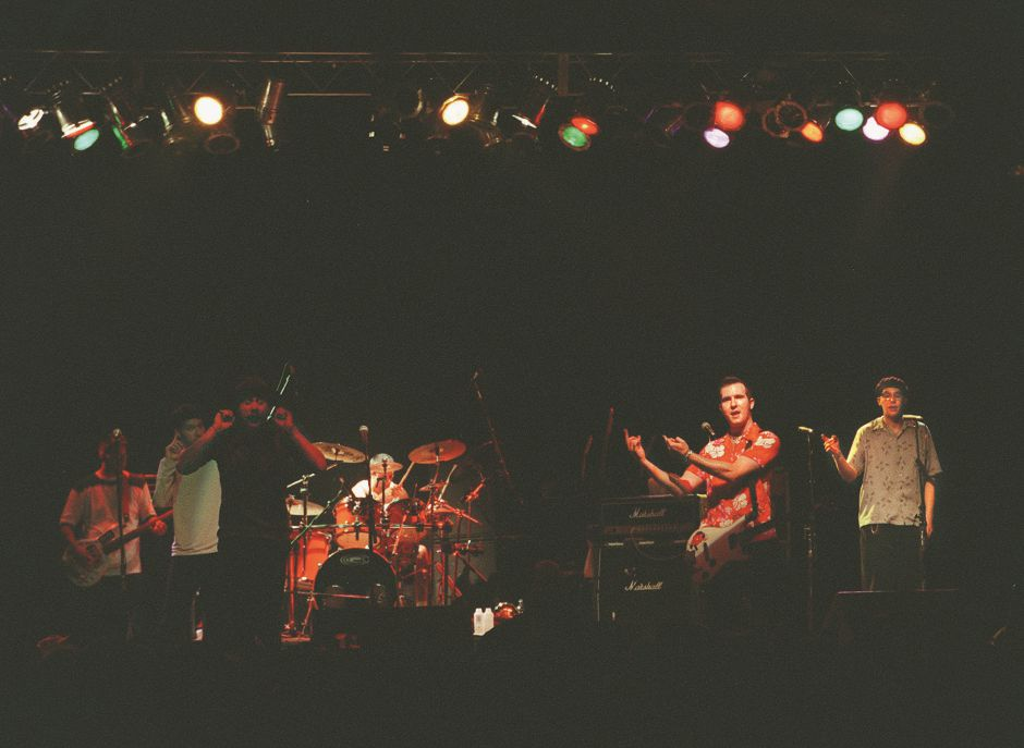RJ file photo - Reel Big Fish performs at the Webster Theater in Hartford, April 1998.