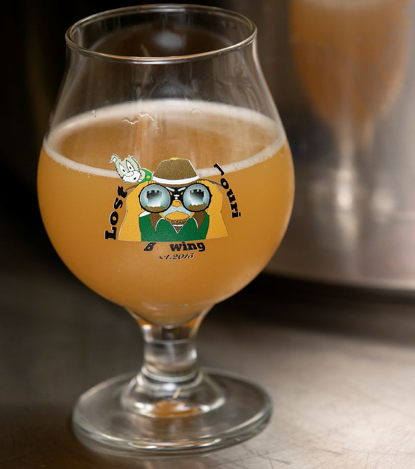 Sifu, a New England IPA brewed by Gary Krock, owner of Lost Tourist Brewing in Meriden, Mon., June 24, 2019. Dave Zajac, Record-Journal