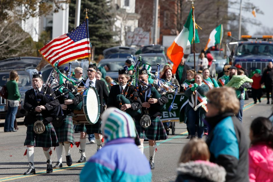 Saturday during the 45th Annual St. Patrick