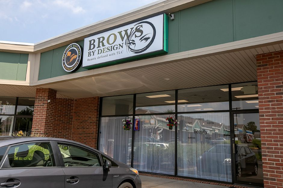 Brows By Design and The Dapper Gentleman & Elegant Lady at 425 S. Broad St. in Meriden, Tuesday, August 7, 2018. Dave Zajac, Record-Journal