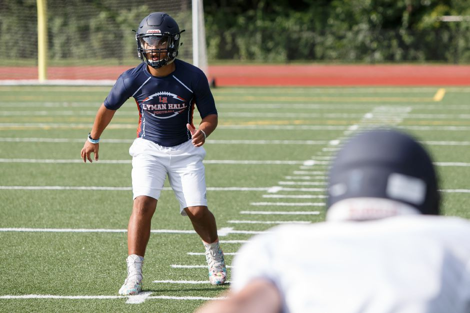 Returning starter Shakespeare Rodriguez will be a key piece in the passing game for LH, both as a wide receiver and a defensive back. Justin Weekes, Special to the Record-Journal