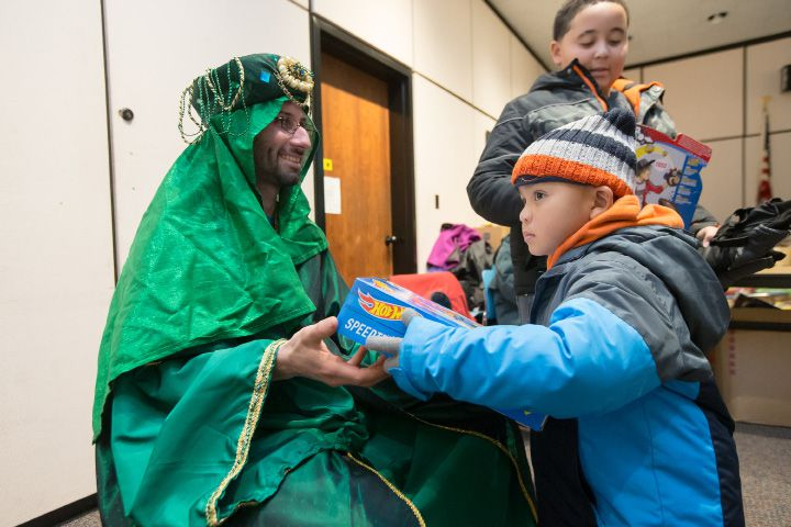 Three Kings Day is celebrated in Meriden on Jan. 8, 2017. | Justin Weekes, For the Record Journal