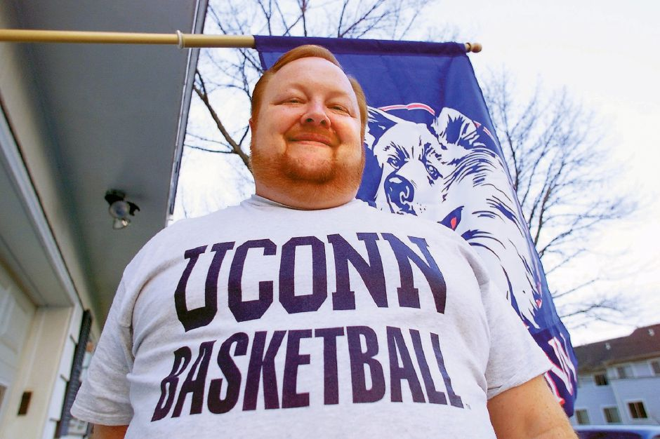 "RJ file photo - Wallingford resident Tom ""Big Red"" Emery was in high demand during the Huskies"