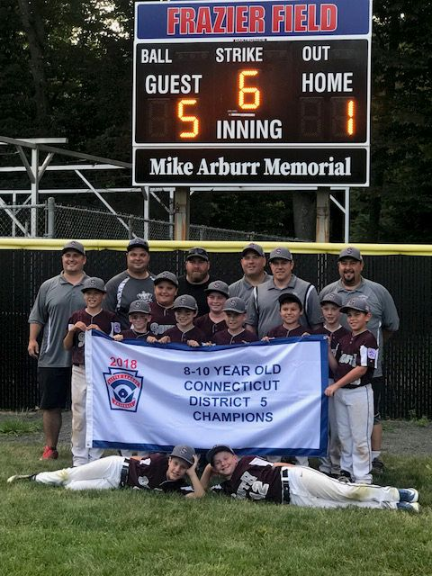 The 8-to-10-year-old Southington South Little League team has won District V and Section II titles this month and are playing for a state championship this week.