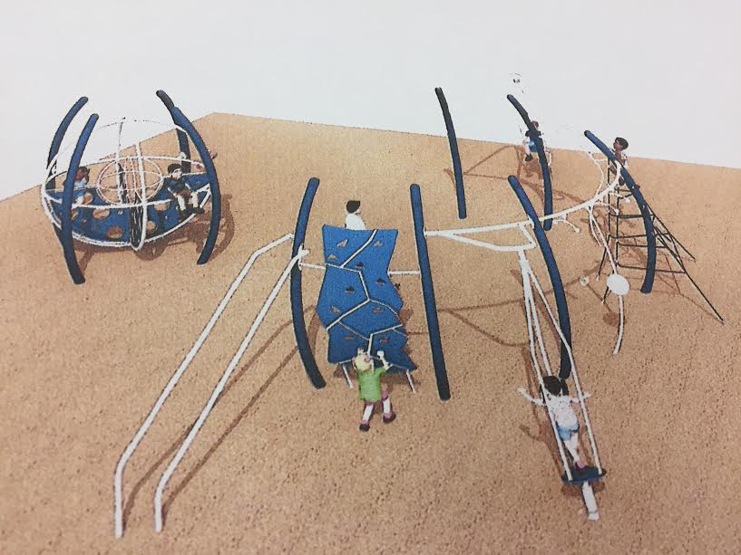 The new Norton Park playground design.