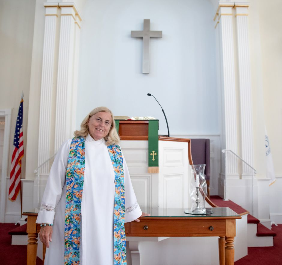 Reverend Olivia Robinson of Kensington Congregational Church announced her resignation in August. After 11 years of ministry at the church, she will give her last sermon on All Saints