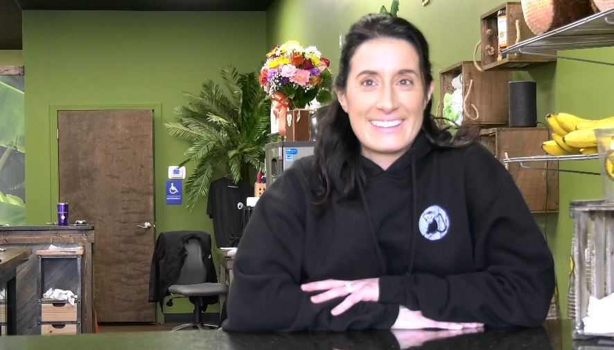 Tammy Williams, managing partner of Southington, The Fresh Monkee, 405 Queen St., Southington, Monday, Jan. 21, 2019. | Ashley Kus, Record-Journal