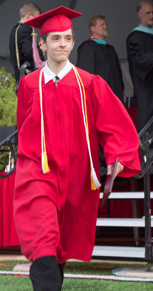 Nicholas Lamoreux a graduate of Cheshire High School class of 2012. (Savannah Mul/Record-Journal)