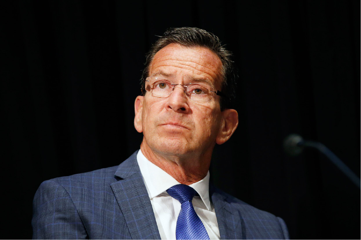 File Photo: Connecticut Gov. Dannel Malloy attends an opioid abuse conference Tuesday, June 7, 2016, in Boston. (AP Photo/Michael Dwyer)