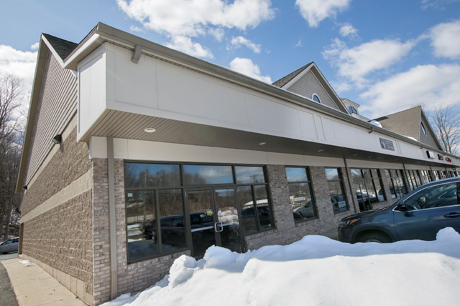 A medical marijuana dispensary has been proposed for this storefront in the Sundad Plaza at 1371 E. Main St. in Meriden, Friday, March 16, 2018. Dave Zajac, Record-Journal