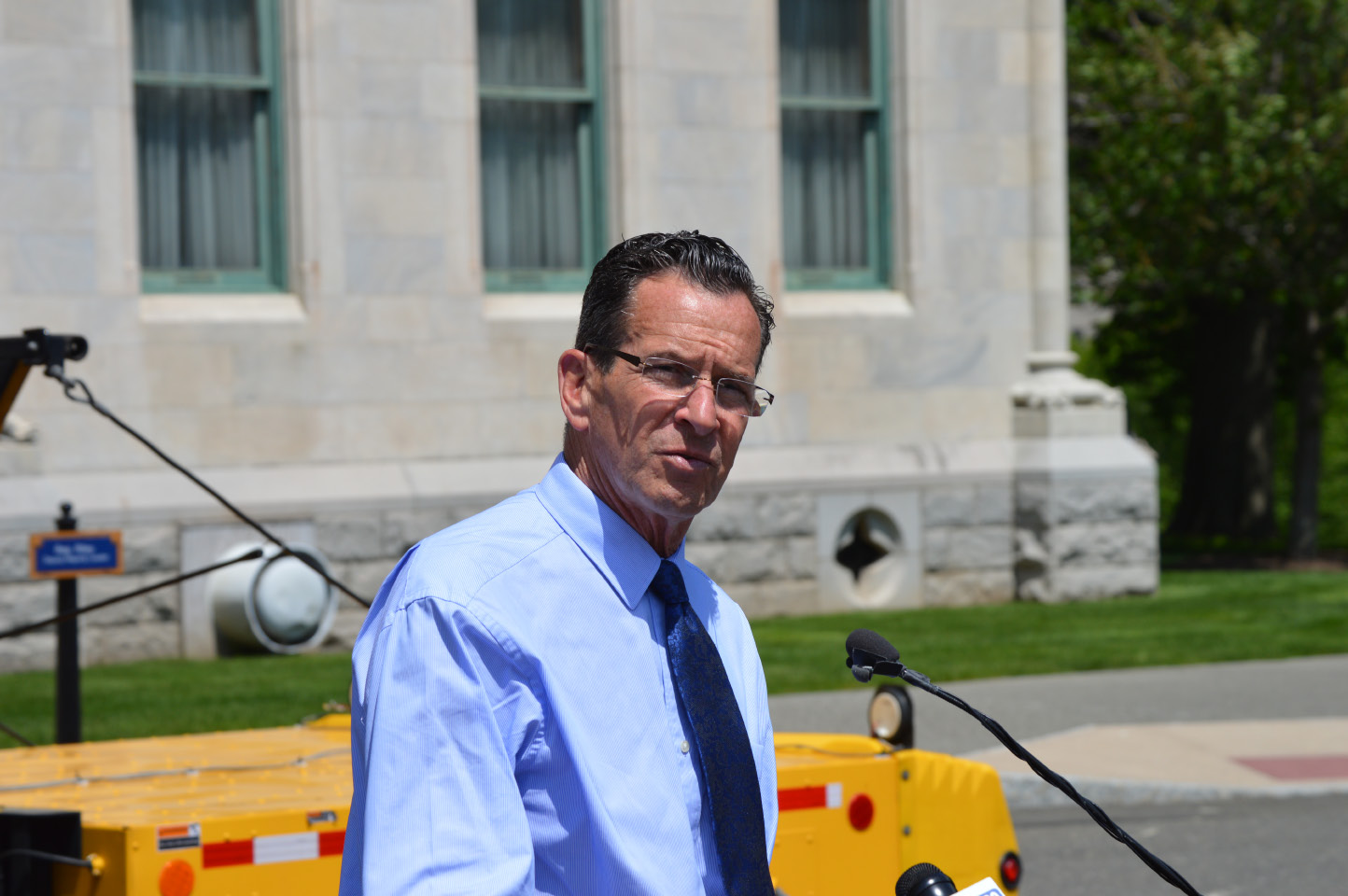 FILE PHOTO -- Gov. Dannel P. Malloy  on Friday, May 19, 2017. | Mike Savino, Record-Journal