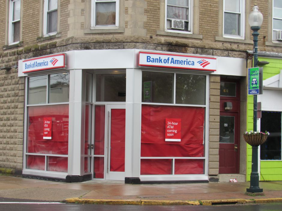 The Bank of America mobile ATM location at  58 Center St., Wallingford. The location will have two ATMs and will be accessible 24-7. Jeniece Roman, Record-Journal