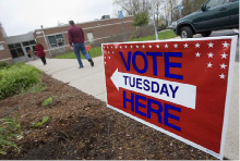 Voters head to the polls at Yalesville School.| File photo, Record-Journal