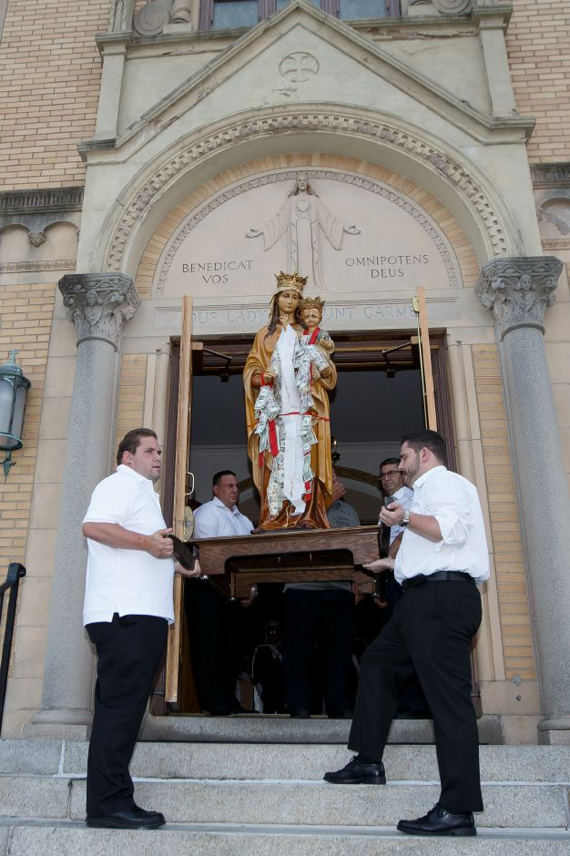 Procession highlight of Meriden church's annual Festa
