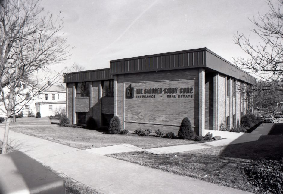 The Gardner-Kirby Corp. at 391 Broad St. in Meriden, 1975.