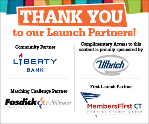 sponsor images, Ulbrich, Liberty bank, Fosdick, Members First CT Credit Union