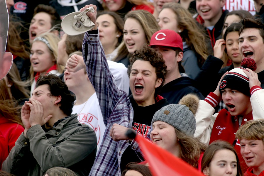 With the fall season on course to start October 1, local schools are sorting out their policies for spectators. The SCC, which includes Cheshire and the Wallingford schools, is leaning toward allowing home fans only — and only at outdoor events. Aaron Flaum, Record-Journal
