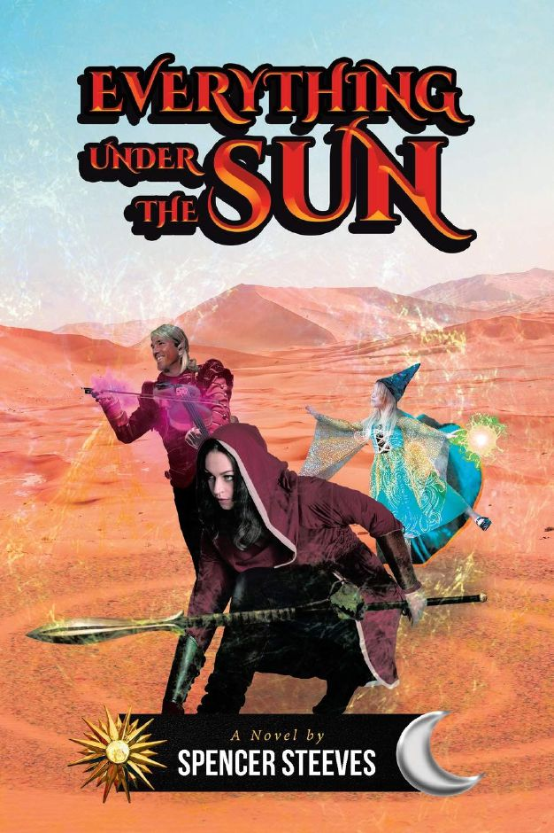 "Plainville native Spencer Steeves has released his first novel, ""Everything Under the Sun."""
