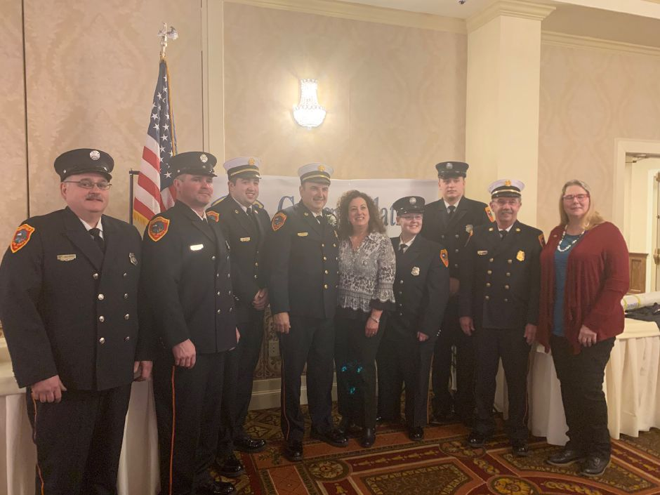 The Middlefield Lions Club nominated Fire Chief Peter Tyc for its Humanitarian Award for Lions District MD23C. Tyc was honored at a ceremony at St. Clements Castle.