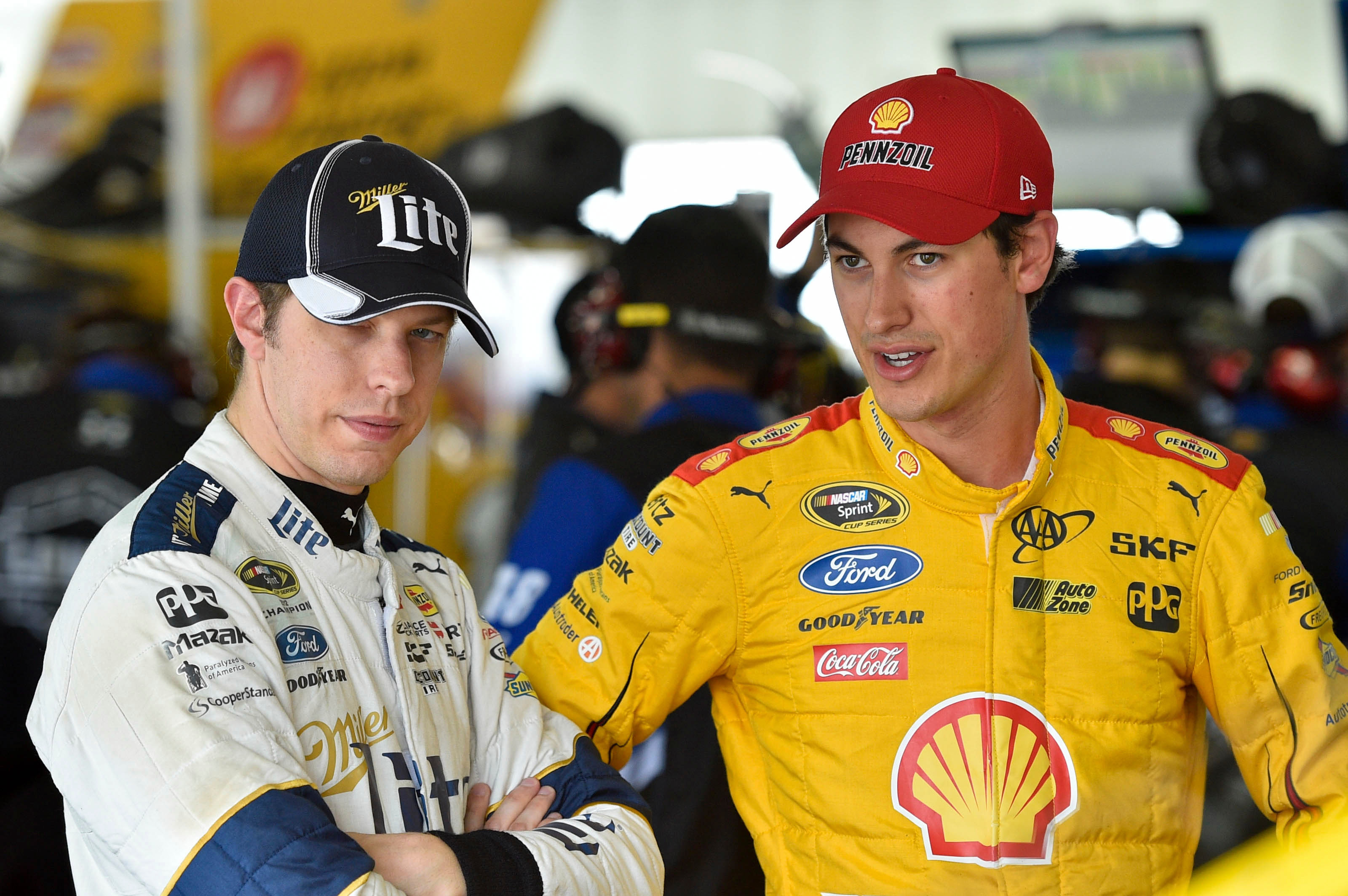 Logano: Brad and I need to find a way forward