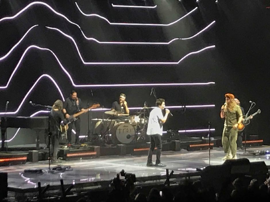 Train performs at Mohegan Sun Sunday Aug. 11, 2019. | Jim Pasinski, special to the Record-Journal
